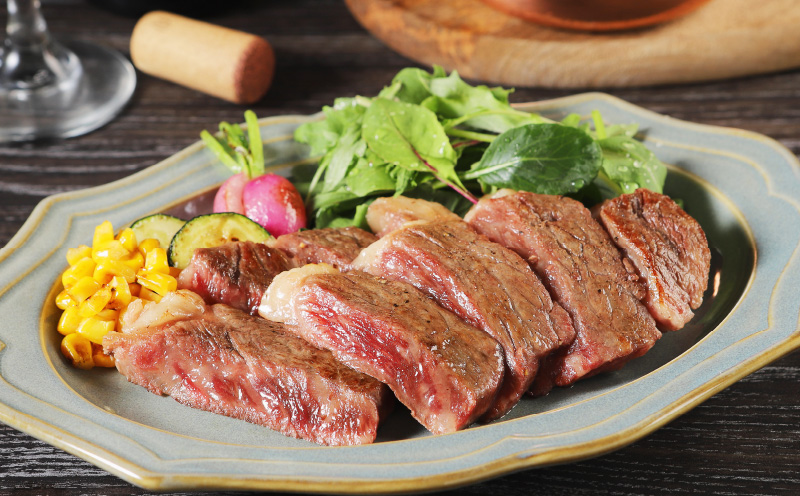 K03_0020<宮崎県産黒毛和牛サーロインステーキセット 2枚 400g>