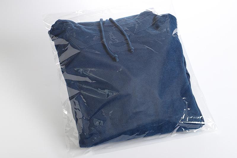 K17_0005 <じゅうじ染め・藍染めパーカー>