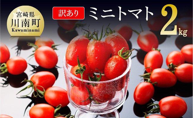 【令和3年12月発送分】【訳あり】宮崎県産ミニトマト2kg