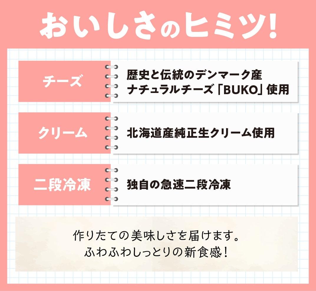 【贈答用】『押川春月堂本店』とろける生チーズケーキセット(チョコ×2個)