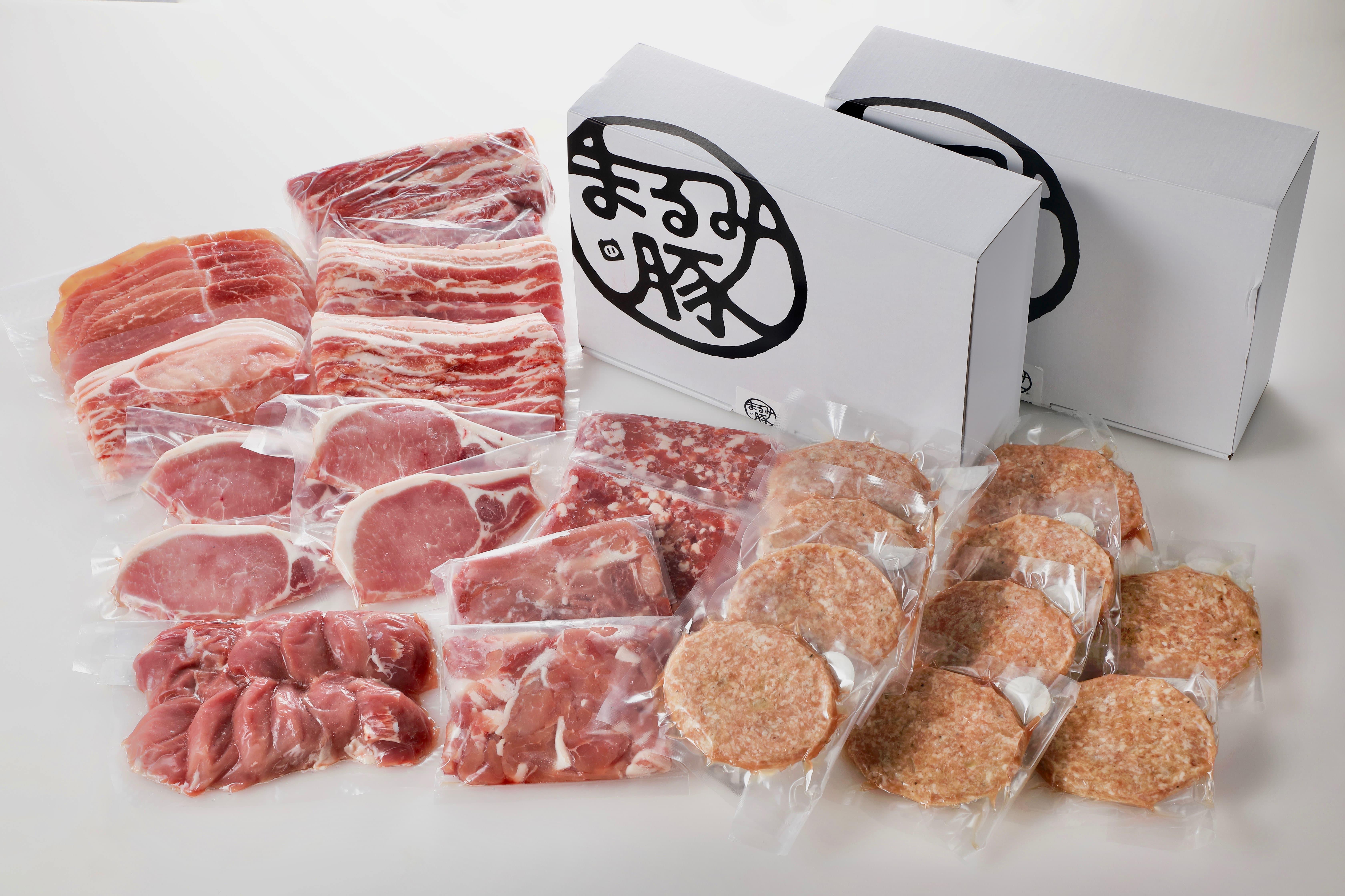 宮崎県グランドチャンピオン受賞!「まるみ豚」9種スペシャルセット【ギフト対応可】