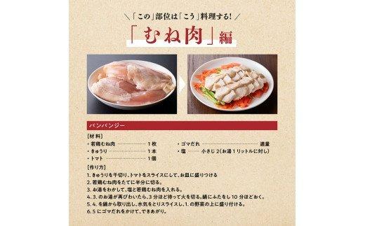 宮崎県産若鶏6.5kg(ささみ・むね・レバー)