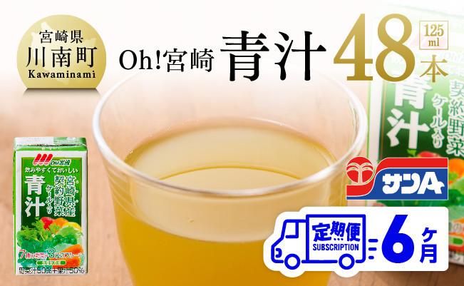 宮崎青汁 125ml×48本セット【6ケ月定期便】