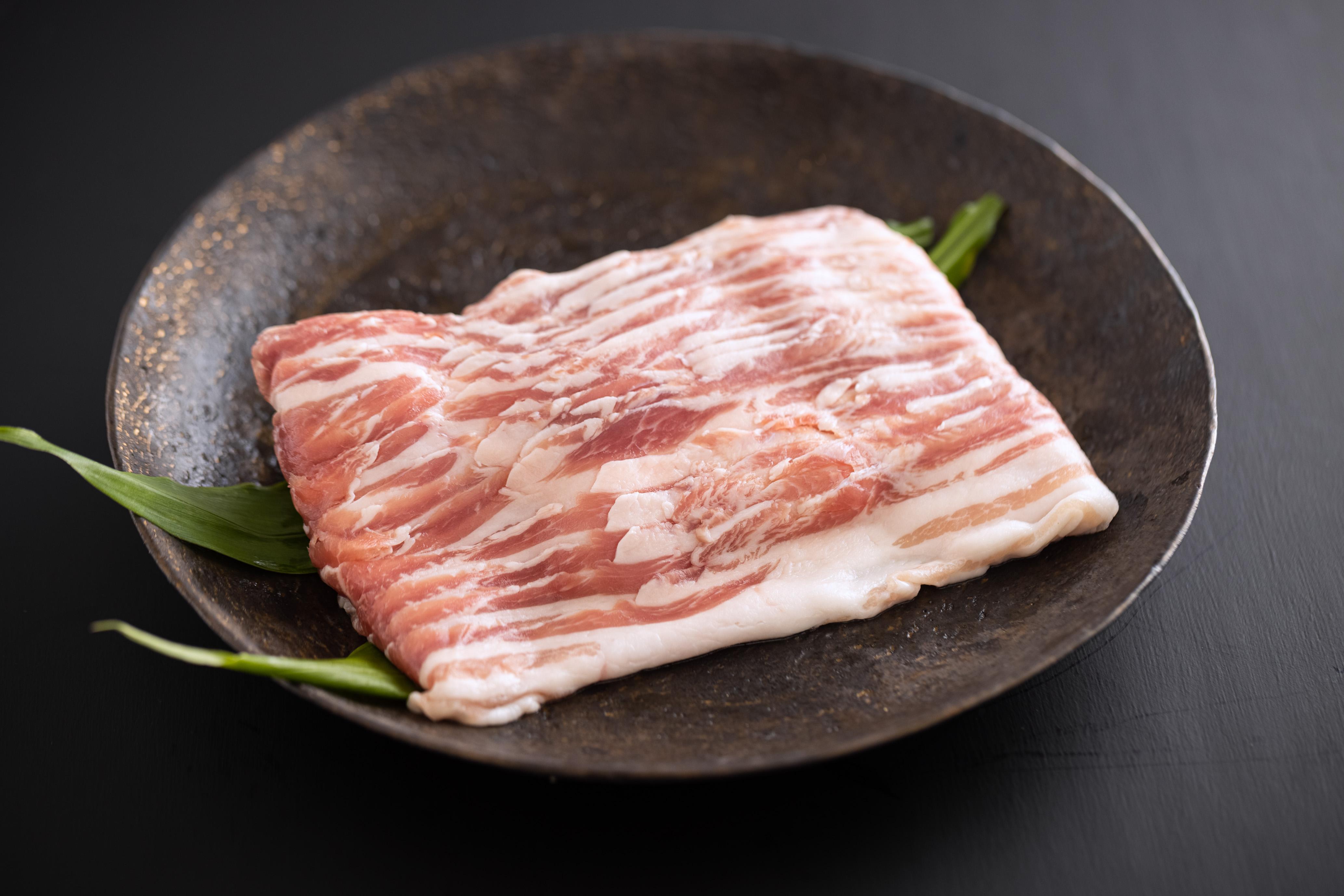 宮崎県産 豚バラスライス 300g×6袋