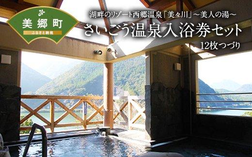 さいごう温泉入浴券セット(12枚つづり)