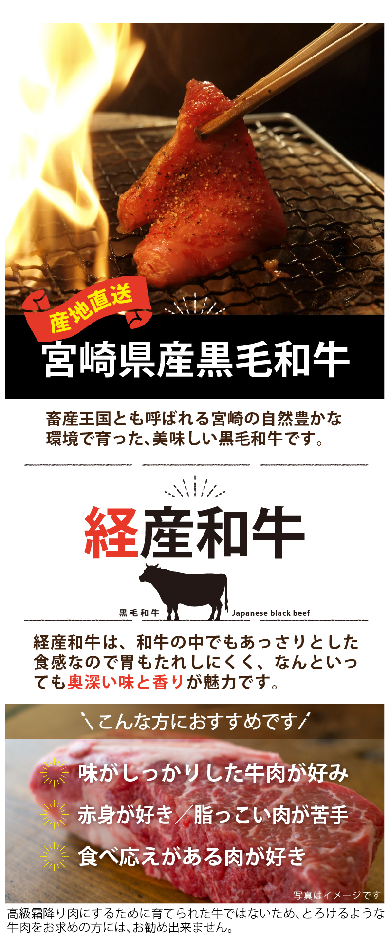 宮崎県産黒毛和牛サーロインブロック1kg