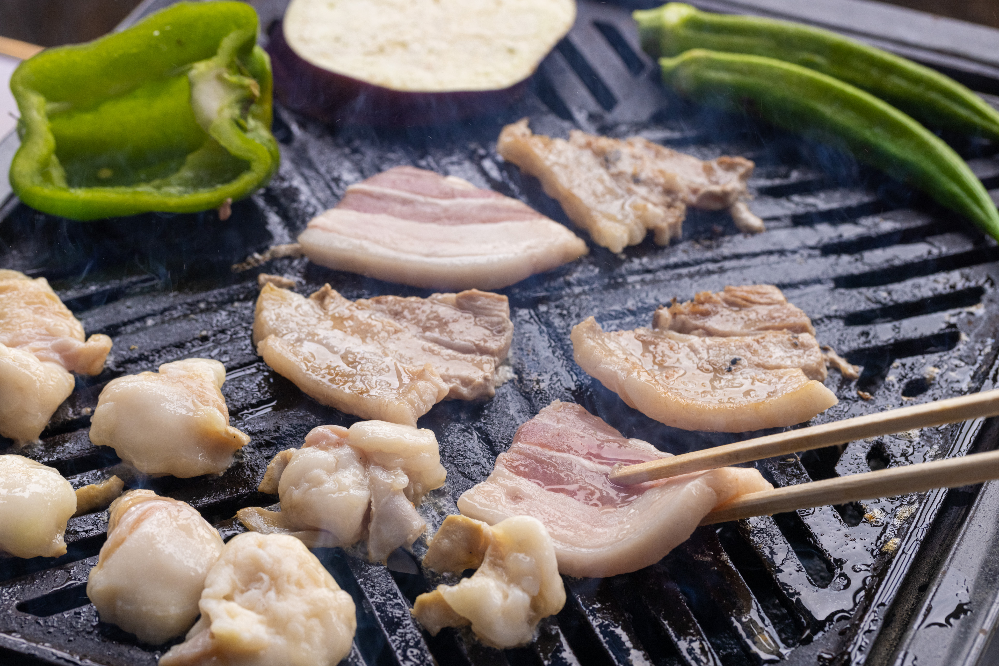 宮崎県産 豚バラ焼肉用 300g×6袋