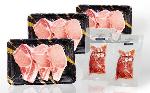 AA-365 枕崎産豚肉生ハム&鹿児島県産豚テキカツ用