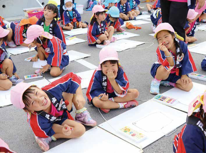 (1)子どもが活きる夢と希望に満ちたまちづくり