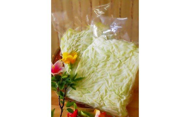 冷凍保存1年可能!! 宮古島産 青パパイヤ しりしり(スライス)5kg