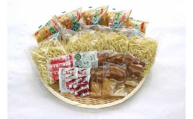 宮古そばゆで麺5食セット ストレートスープ