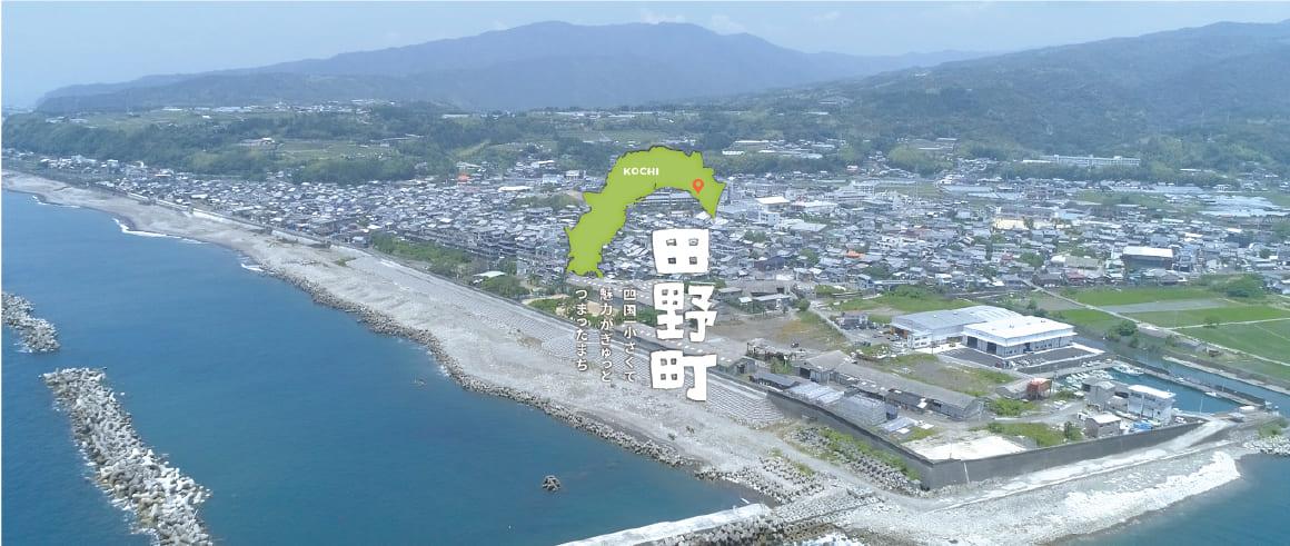 ふるさとパレットに高知県田野町が参加しました