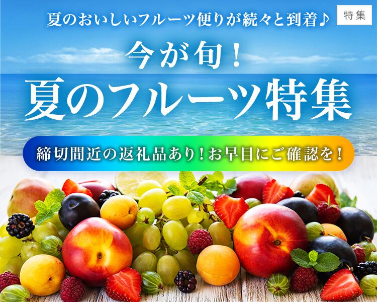 \今が旬!夏のフルーツ特集/